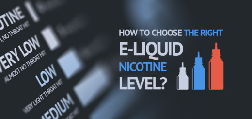 How to Choose E-Liquid Nicotine Level