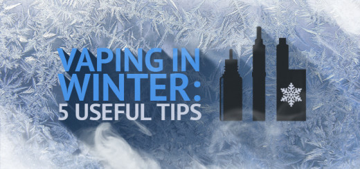 Vaping in Winter: 5 Useful Tips